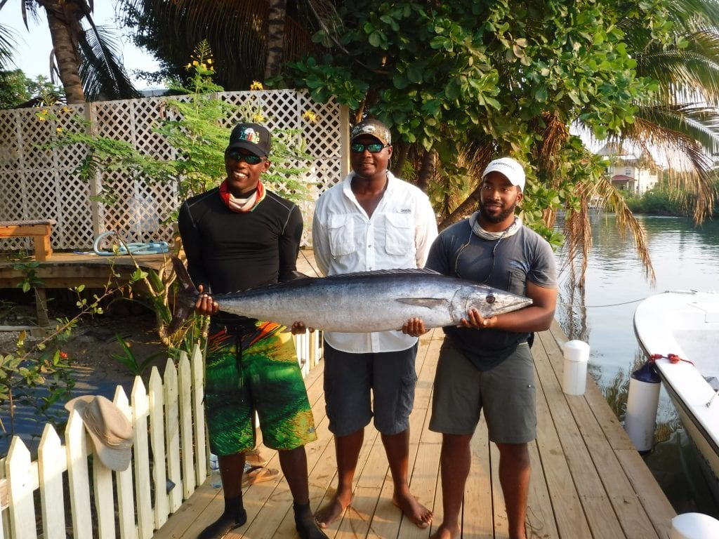 3 men and a wahoo catch