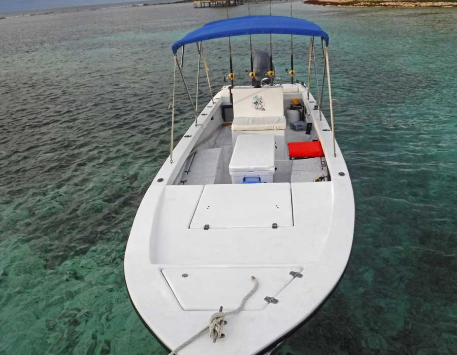 Boat for deep sea fishing