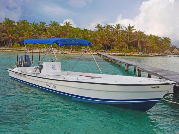 boat near dock