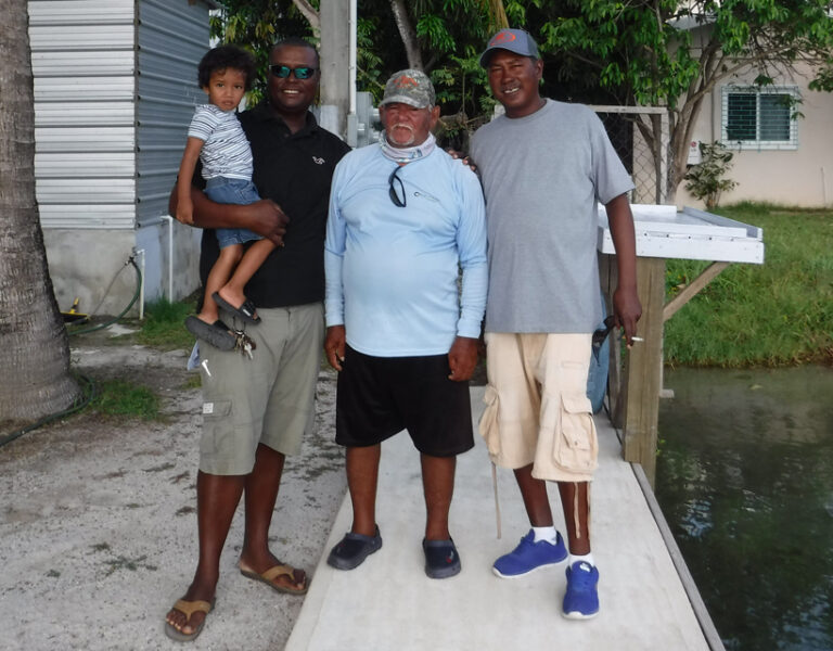 placencia fishing guide jermain Lincoln Westby